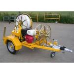 Лебедка тяговая гидравлическая C-821-01, сила тяги 10 кН