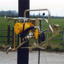 Лебедка тяговая гидравлическая C-825, сила тяги 10 кН
