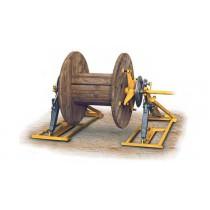 Подъемник барабана механический CVM 200, диаметр барабанов 1450-2000 мм