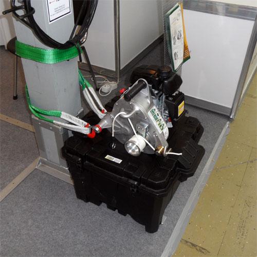 Лебедка тяговая портативная PCW-5000